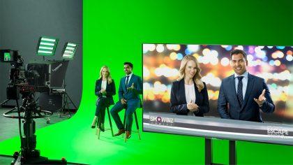 Livestream Studio Green Screen