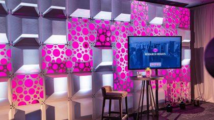 Livestream Studio TV Scherm